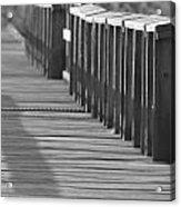 Walk To The Dock Acrylic Print