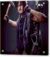 Walking Dead - Daryl Dixon Acrylic Print
