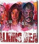 Walking Dead Dead Acrylic Print