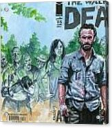 Walking Dead Ghosts Acrylic Print