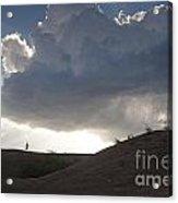 Walking In The Cloud Acrylic Print