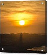 Walking In The Sunrise Acrylic Print