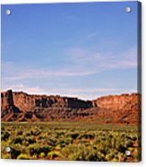 Walking In The Valley Of The Gods Acrylic Print by Christine Till
