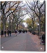 Walking Acrylic Print