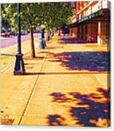Walking To King Street Station Five-o-nine Pm Acrylic Print