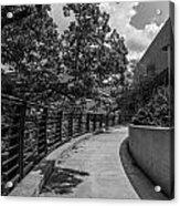Walkway At Wharton Center Acrylic Print