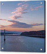 Walkway Over The Hudson Dawn Acrylic Print