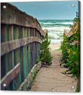 Walkway To The Beach Acrylic Print