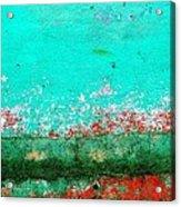 Wall Abstract 111 Acrylic Print