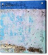 Wall Abstract 25 Acrylic Print