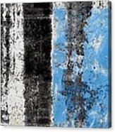 Wall Abstract 34 Acrylic Print