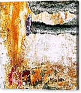 Wall Abstract 62 Acrylic Print