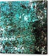 Wall Abstract 9 Acrylic Print