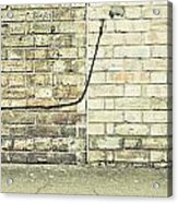 Wall And Wire Acrylic Print