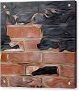 Wall Brick Acrylic Print