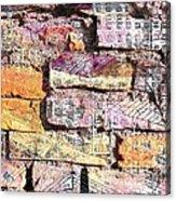 Wall In City Acrylic Print