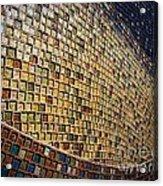 Wall No.22 Color Version Acrylic Print