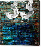 Wall Of Knowlogy Abstract Art Acrylic Print