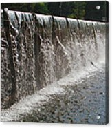 Wall Of Water Acrylic Print