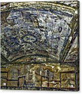 Ceiling And Wall Paintings Acrylic Print