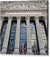 Wall Street New York Stock Exchange Nyse  Acrylic Print