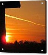 Wall Sunrise Acrylic Print