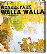 Walla Walla Acrylic Print