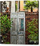 Walled Garden Acrylic Print