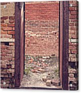 Walled In Acrylic Print
