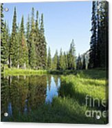 Wallowas - No. 3 Acrylic Print