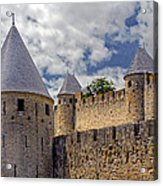 Walls Of Carcassonne Acrylic Print