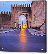 Walls Of Fes In Morocco Acrylic Print