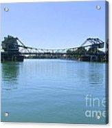 Walnut Grove Bascule Bridge Acrylic Print