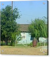 Walnut Grove - Typical Rural Farm House Acrylic Print