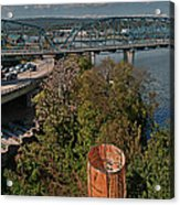 Walnut Street Bridge Chattanooga Acrylic Print