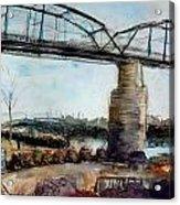 Walnut Street Bridge Acrylic Print