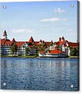 Walt Disney World Resort Acrylic Print