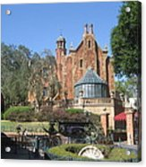 Walt Disney World Resort - Magic Kingdom - 1212141 Acrylic Print by DC Photographer