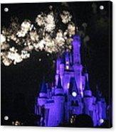 Walt Disney World Resort - Magic Kingdom - 121245 Acrylic Print by DC Photographer