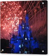 Walt Disney World Resort - Magic Kingdom - 121271 Acrylic Print by DC Photographer