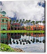 Walt Disney World Swan Hotel  Acrylic Print