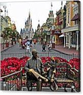 Walt Disney World Transportation 3 Panel Composite 02 Acrylic Print