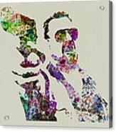 Walter Big Lebowski  Acrylic Print