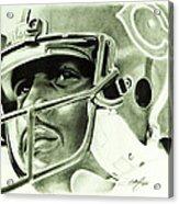 Walter Payton Acrylic Print by Don Medina