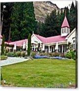 Walter Peak Farm New Zealand Acrylic Print