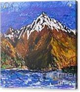 Walter Peak Queenstown  Acrylic Print