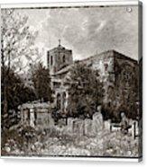 Waltham Abbey, Uk Acrylic Print
