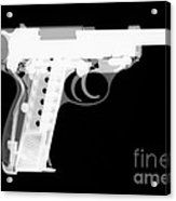 Walther P38 Reverse Acrylic Print