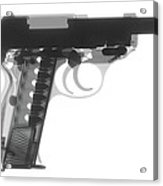 Walther P38 X-ray Photograph Acrylic Print