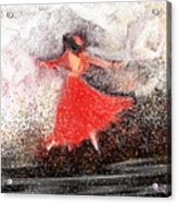 Waltz Acrylic Print